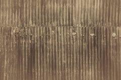 Zinkväggbakgrund Royaltyfri Fotografi