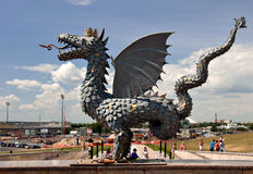 Zinlant, Symbool van Kazan. Rusland Royalty-vrije Stock Foto's