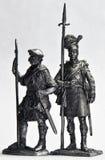 Zinn-Soldaten lizenzfreie stockfotografie