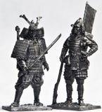 Zinn-Soldaten stockbild
