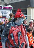 Zinneke Parade on May 19, 2012 Royalty Free Stock Image