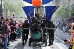 Zinneke Parade performances 2012 Stock Image