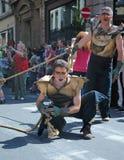 Zinnekeparade op 22 Mei, 2010 Stock Afbeelding