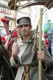 Zinnekeparade op 22 Mei, 2010 Stock Fotografie
