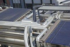 Zintegrowany energetyczny system Obraz Stock