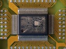 zintegrowany microcircuit fotografia royalty free