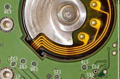 Zintegrowany - obwód używać w elektronice zdjęcie stock