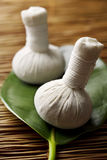 ziołowy piłka masaż Fotografia Royalty Free