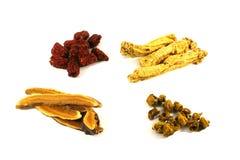 ziołowych zupni chińscy składników Zdjęcia Royalty Free