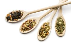 Ziołowa mieszanka dla herbaty Zdjęcia Royalty Free