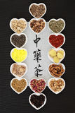 Ziołowe herbaty od Chiny Fotografia Stock