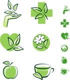 ziołowe ikony Obraz Stock