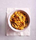 Ziobro z ryżową potrawką obraz royalty free