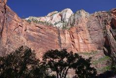 Zion国家公园 图库摄影