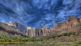 Zion国家公园 库存照片