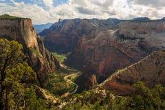 Zion峡谷 库存照片