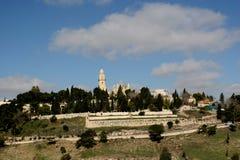 zion Иерусалима mt Стоковые Фото