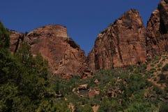 zion 4 национальных парков стоковое фото rf