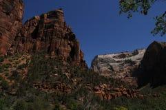 zion 3 национальных парков стоковое изображение rf