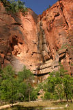 zion тропки национального парка Стоковая Фотография RF