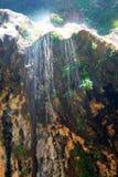 啜泣zion的国家公园岩石美国 免版税库存照片