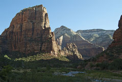 Zion Angels Landing 2 stock photography