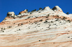 Zion Beehives. Rock formations that look like beehives, Zion National Park, Utah Royalty Free Stock Photo