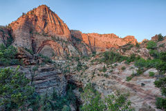 Zion canyon Stock Images