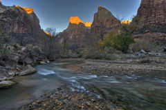 Zion Canyon Royalty Free Stock Images