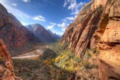 Zion Canyon Fotos de archivo libres de regalías