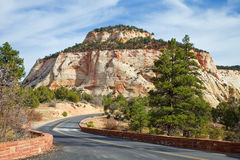 Zion Canyon Mesa Royalty Free Stock Image