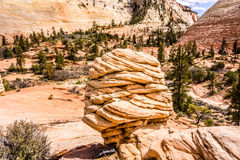 Zion Canyon National Park Royalty Free Stock Image