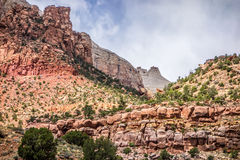 Zion Canyon National Park Stock Image