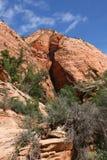 Zion Canyon National Park, Utah. Royalty Free Stock Image