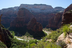 Zion Canyon, national parkland, Utah Royalty Free Stock Image