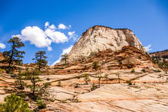 Zion Canyon National Utah Royalty Free Stock Images