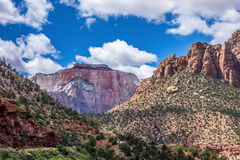 Zion Canyon National Utah Royalty Free Stock Photo