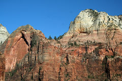 Zion Canyon Overlook. Zion Canyon National Park stock photos