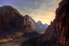 Zion Canyon Park Stock Image