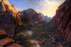 Zion Canyon Park Stock Photos