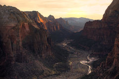 Zion Canyon Park Royalty Free Stock Photos