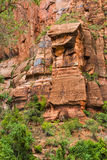 Zion Canyon Royalty Free Stock Photography