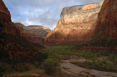 Zion Canyon Utah Royalty Free Stock Photos