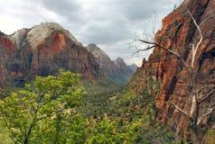Zion Canyon - Zion National Park Stock Photo