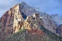 Zion Cliff Formations Royalty Free Stock Image