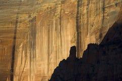 zion de stationnement national de falaises Image libre de droits