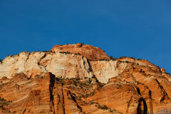 Zion Formation at Sunset Stock Photos