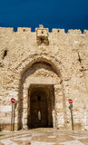 Zion Gate, Old City of Jerusalem, Israel Stock Photos