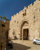 Zion Gate in Old City of Jerusalem, Israel Stock Photo