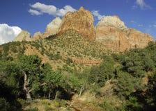 zion kolob каньона Стоковые Фотографии RF